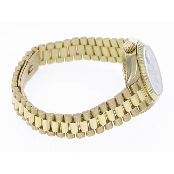 ロレックス デイトジャスト 69178G シャンパン文字盤 レディース 腕時計 中古