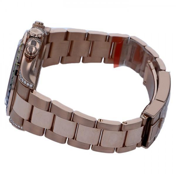 ロレックス デイトナ レインボー 116595RBOW ブラック/ピンク文字盤 メンズ 腕時計 新品 gc-yukizaki 03