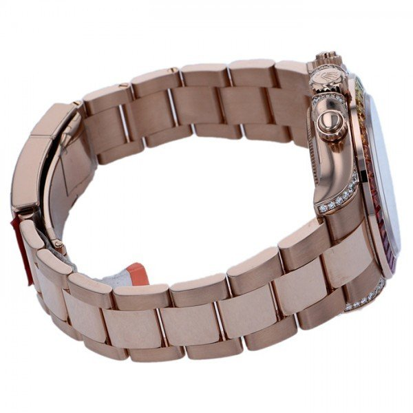 ロレックス デイトナ レインボー 116595RBOW ブラック/ピンク文字盤 メンズ 腕時計 新品 gc-yukizaki 04
