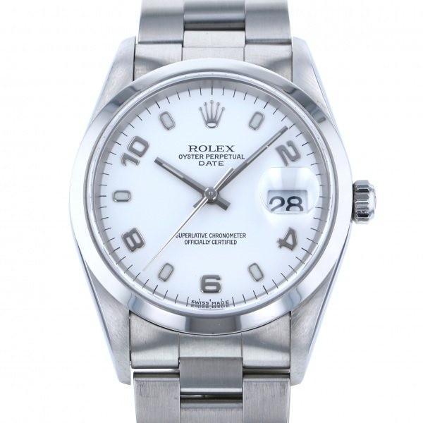 huge discount 0ea17 32cbc ロレックス オイスターパーペチュアル デイト 15200 ホワイト文字盤 メンズ 腕時計 中古 :W180805:ジェムキャッスルゆきざき - 通販  - Yahoo!ショッピング
