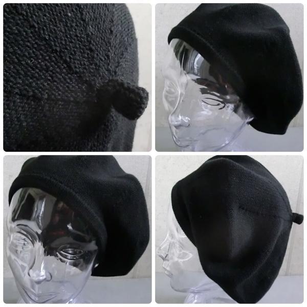 【店内商品2点以上ご購入で送料無料】帽子 ベレー サマーコットン ニットベレー帽 オールシーズン シンプル ベレー帽 メンズ レディース gcp 02