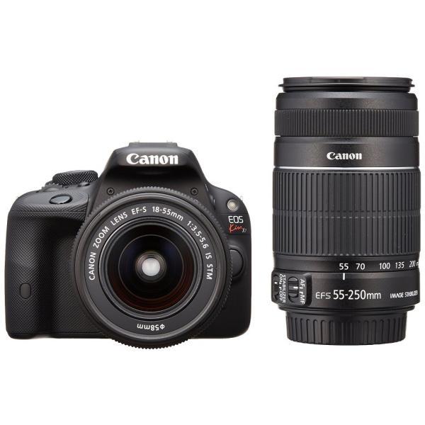 展示品 Canon キヤノン EOS Kiss X7 ダブルズームキット