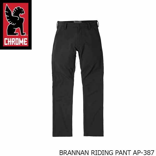クローム CHROME メンズ ロングパンツ ブラナン ライディング パンツ ボトムス カジュアル ブラック 黒 男性用 BRANNAN RIDING PANT CRMAP387 国内正規品