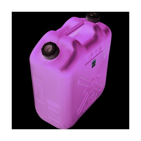 軽油缶 20L スリム グリーン KY-20S 土井金属化成 ヒシエス