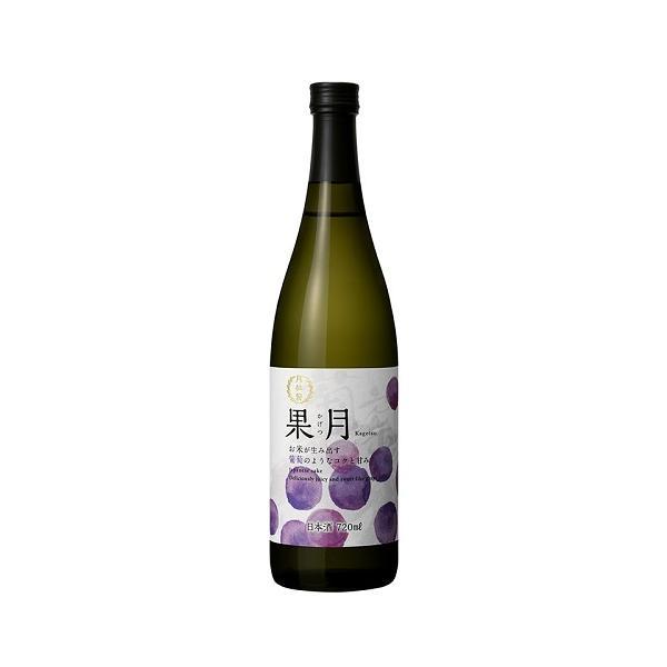 月桂冠 果月 葡萄720mL壜詰 1本 ブドウ 巨峰 果実 日本酒 ピオーネ 香り プレゼント 家飲み 自宅 甘口 果物 フルーツ
