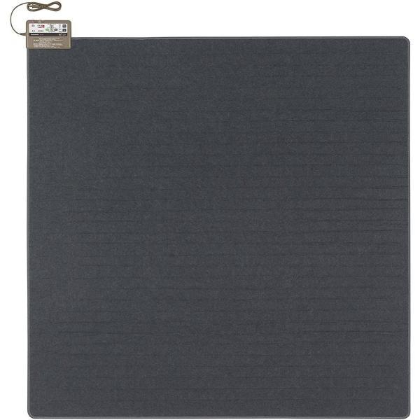 パナソニック ホットカーペット カバー付きセット トリプル断熱構造 ~2畳 ブラック DC-2HAA10-K|geminassmarket|04