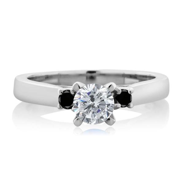 指輪 リング 0.63カラット 天然ダイヤモンド シルバー925