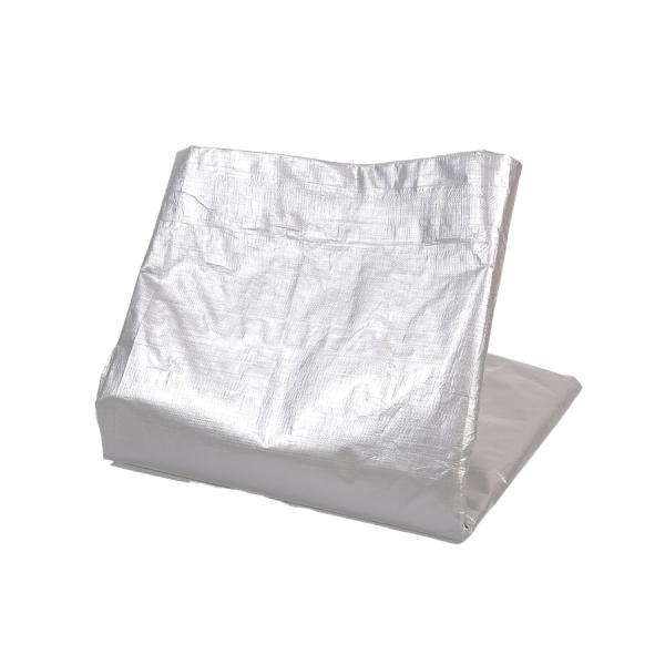 厚手 防水 耐候性 屋外 UVシート #4000 OSK シルバー 5.4x7.2m|genbaichiba