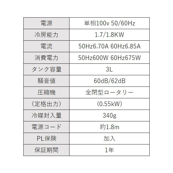 スポットクーラー ナカトミ スポットエアコン 業務用 冷風機 100V 移動式|genbaichiba|04
