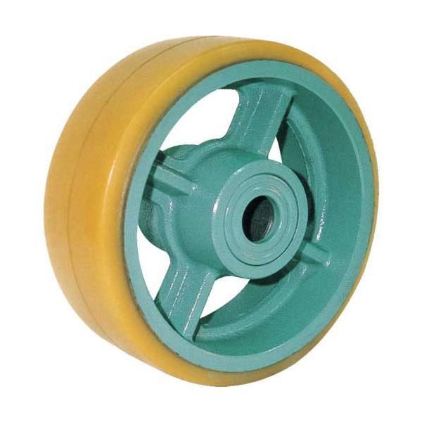 ヨドノ 鋳物重荷重用ウレタン車輪ベアリング入 UHB300X90|genbaichiba|01