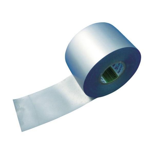 日東 防食テープ No.51SG 0.4mm×50mm×10m シルバーグレー genbaichiba