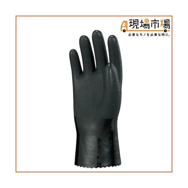 手袋 No.510 制電ビニローブ 裏布付  ショーワグローブ L LL 10双入 ブラック 静電気対策用|genbaichiba|02