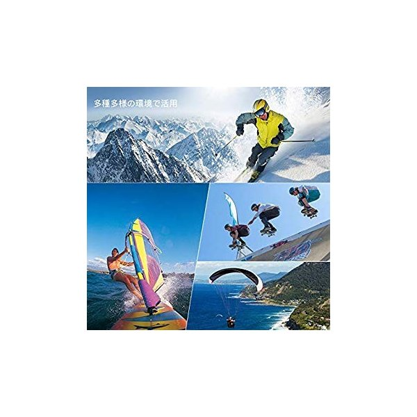 進化版 APEMAN A66S アクションカメラ 1080P高画質 1400万画素 HDMI出力 スポーツカメラ 2インチ液晶画面 40M general-purpose 14