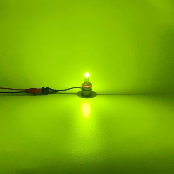 FUTWOD H8 H9 H11 H16 LED フォグランプ レモンイエロー ライムイエロー 黄色 LED フォグ ヘッドライト フォグ球 general-purpose 04