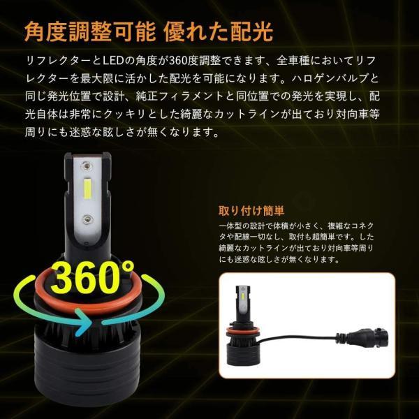FUTWOD H8 H9 H11 H16 LED フォグランプ レモンイエロー ライムイエロー 黄色 LED フォグ ヘッドライト フォグ球 general-purpose 05