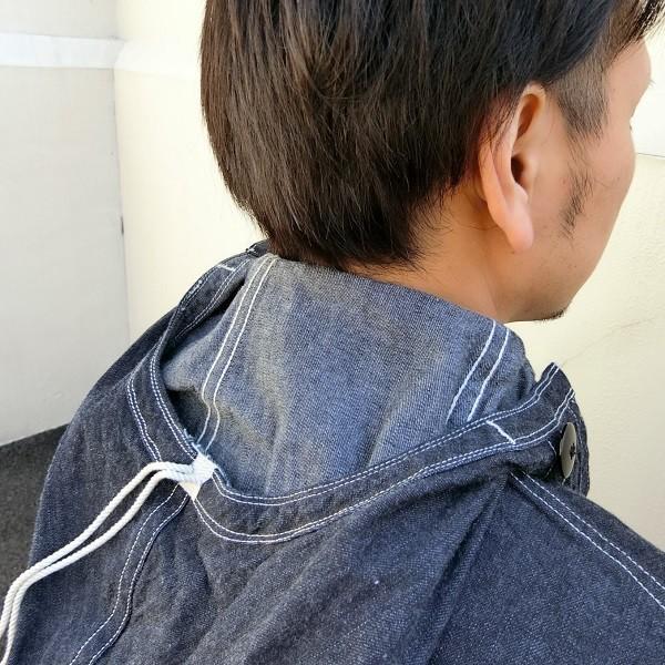 ジャケット デニム メンズ BUZZ RICKSON'S NAVY HOODED PULLOVER JACKET フーディ BR11703 generalstore-y 03