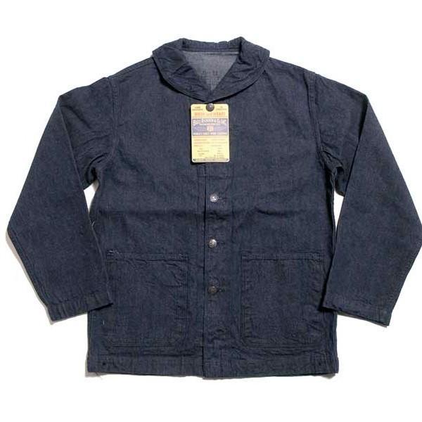 ジャケット デニム BUZZ RICKSON'S NAVY デニムワークジャケット BR12744 バズリクソンズ|generalstore-y|03