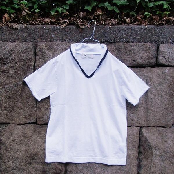 メール便送料無料 OCEAN UNION スキッパー Tシャツ|generalstore-y|05