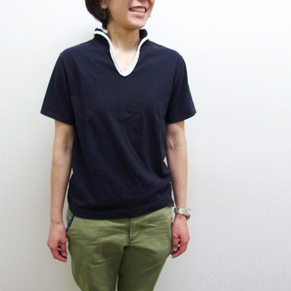 メール便送料無料 OCEAN UNION スキッパー Tシャツ|generalstore-y|06