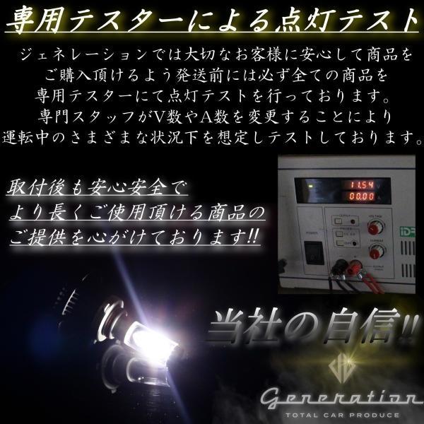 ホンダ オデッセイ RC1/2 マイナーチェンジ前 X3 LEDヘッドライト 全光束6000LM 車検対応 generation-world 05