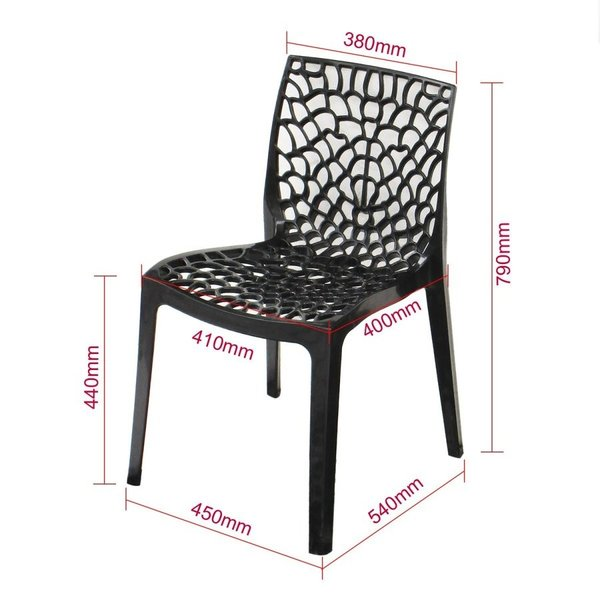 2脚セット ガーデンチェア 庭用 ガーデニングチェア ダイニングチェア おしゃれ 座りやすい 庭先 ジェネリック チェア 庭先 インテリア|genericchair|08