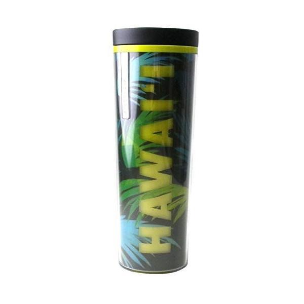 STARBUCKS スターバックス スタバ タンブラー 水筒 プラスチック 派手 HAWAII ハワイ カラフル バーム ボタニカル 南国 夏 ビビッ|genieweb