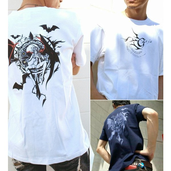 Tシャツ 悪魔 サキュバス エロ|genju|03
