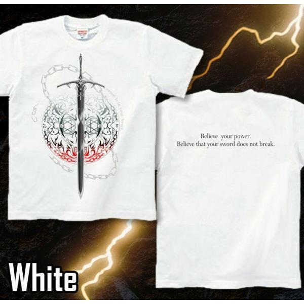 Tシャツ トライバル 剣 ファンタジー|genju|09