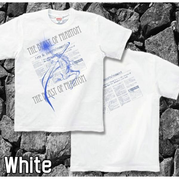 Tシャツ ユニコーン 馬 キレイめ genju 05