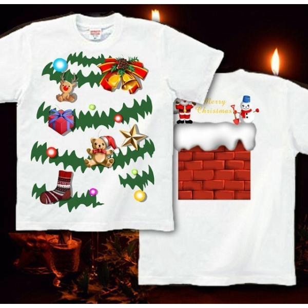 Tシャツ クリスマスツリー スポーツジム|genju|08