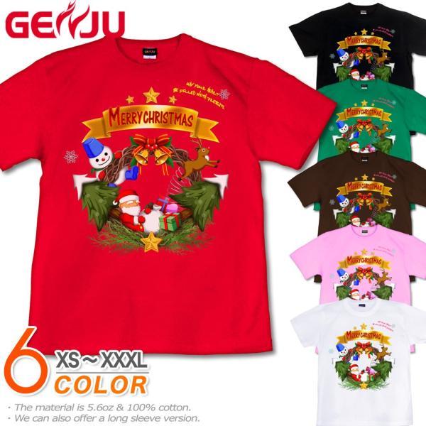 Tシャツ クリスマス 雪だるま イベント|genju