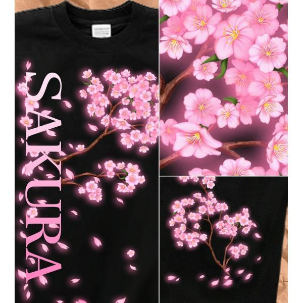 Tシャツ 桜 花見 桜花 花見 イベント genju 02