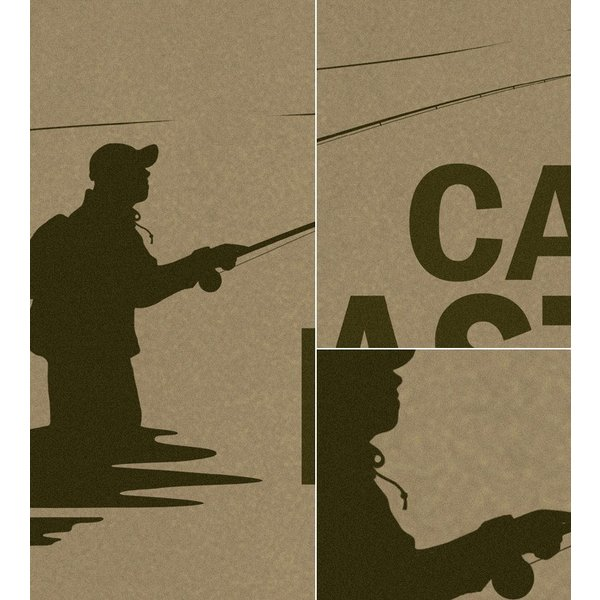 Tシャツ メンズ キャンプ 釣り フィッシング フライ 渓流 アウトドア CAMP MASTER OUTDOORS Type-4 半袖 長袖 ティーシャツ ロンT 大きめ XXL XXXL 2L 3L 4L|genju|02