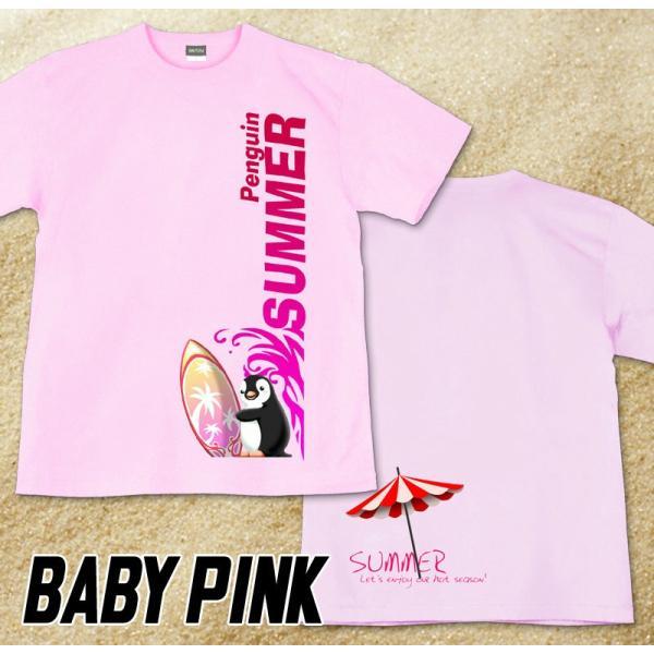 GENJU 夏Tシャツ メンズ サーフィン 海 ペンギン genju 09