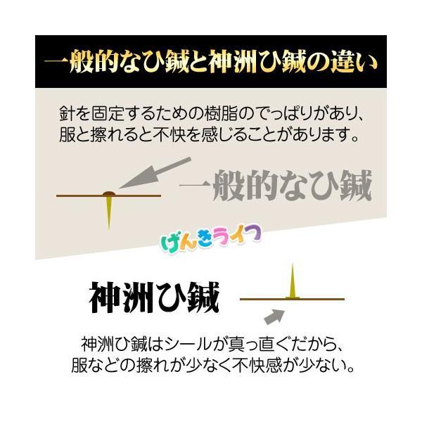 神洲 ひ鍼 30針入り 5箱 合計150針 日本薬興|genkilife|02