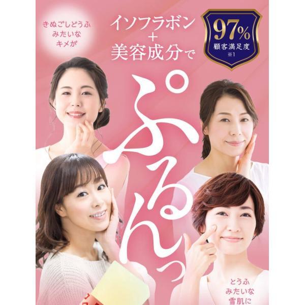 【送料無料】鳥飼豆腐のイソフラボンゼリー10g×30包(レモン味) サプリ 大豆サプリメント 美容と健康づくりに|genkiya6090|02