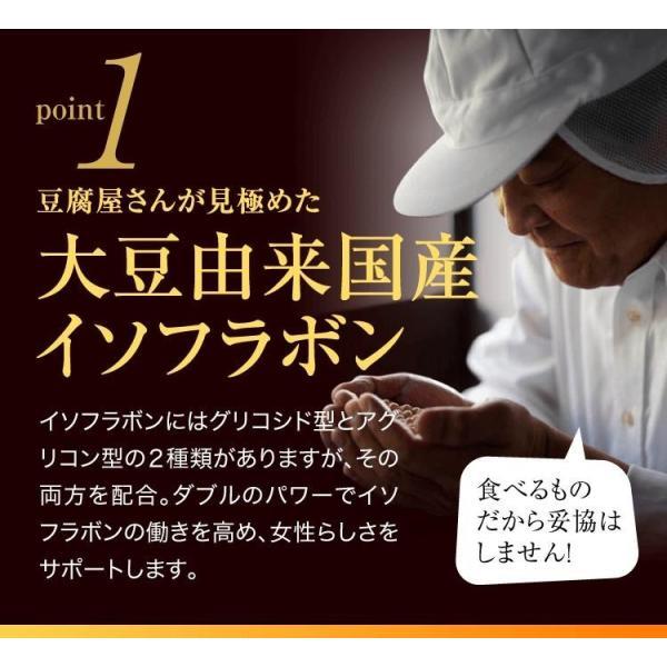 【送料無料】鳥飼豆腐のイソフラボンゼリー10g×30包(レモン味) サプリ 大豆サプリメント 美容と健康づくりに|genkiya6090|05