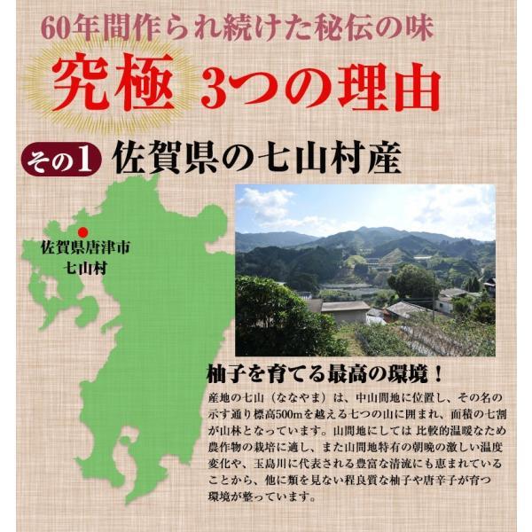 佐賀県七山産の柚子胡椒80g(送料無料)2袋購入でもう1袋プレゼント ポイント消化 お試し|genkiya6090|04