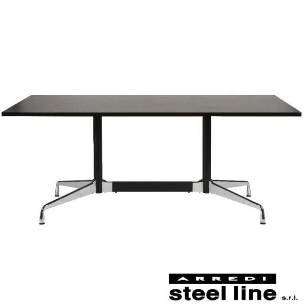 *20%OFF対象* チャールズ&レイ・イームズ セグメントテーブル(W180×D90) スティールライン社DESIGN900 (steelline) genufine-store