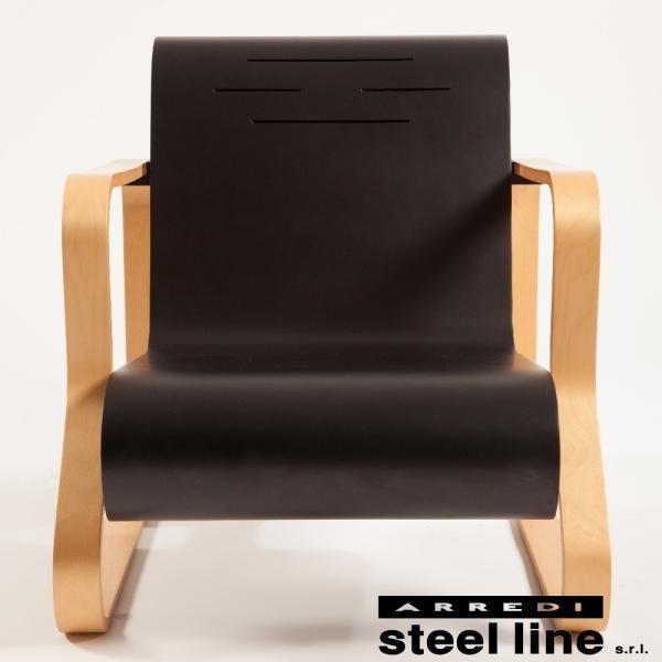 アルヴァ・アアルト パイミオチェア スティールライン社DESIGN900 (steelline)|genufine-store|02