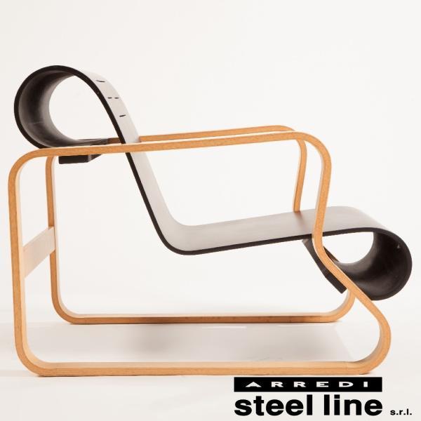 アルヴァ・アアルト パイミオチェア スティールライン社DESIGN900 (steelline)|genufine-store|03