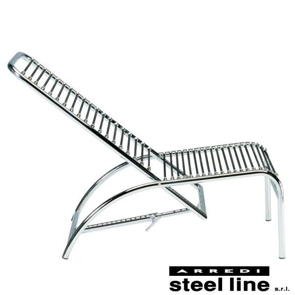 ルネ・エルブスト SANDOWSシェーズロング スティールライン社DESIGN900 (steelline)|genufine-store