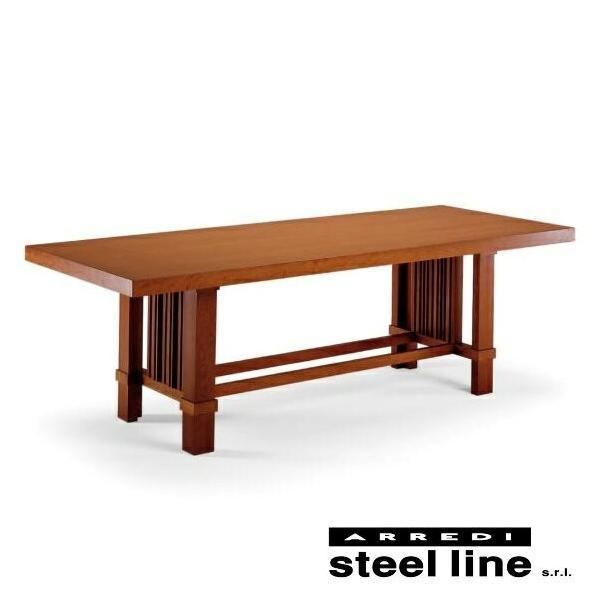 *20%OFF対象* フランク・ロイド・ライト タリアセンテーブル スティールライン社DESIGN900 (steelline) genufine-store