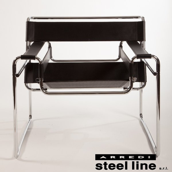 マルセル・ブロイヤー ワシリーチェア スティールライン社DESIGN900 (steelline)|genufine-store|02
