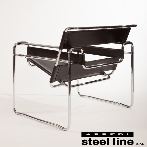 マルセル・ブロイヤー ワシリーチェア スティールライン社DESIGN900 (steelline)|genufine-store|03