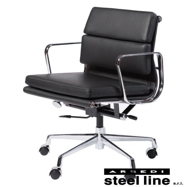 チャールズ&レイ・イームズ アルミナムグループ マネジメントチェア(SOFT) スティールライン社DESIGN900 (steelline)|genufine-store