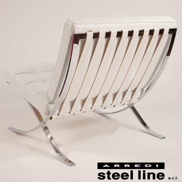 ミース・ファン・デル・ローエ バルセロナチェア スティールライン社DESIGN900 (steelline)|genufine-store|02