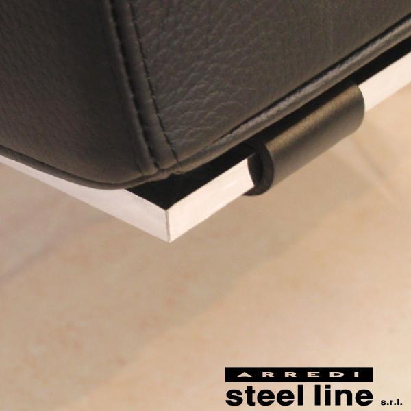 ミース・ファン・デル・ローエ バルセロナチェア スティールライン社DESIGN900 (steelline)|genufine-store|04