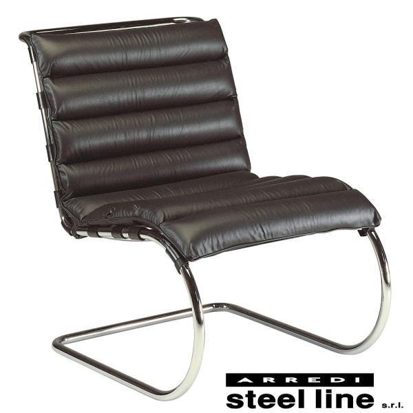 ミース・ファン・デル・ローエ MRラウンジチェア スティールライン社DESIGN900 (steelline) genufine-store