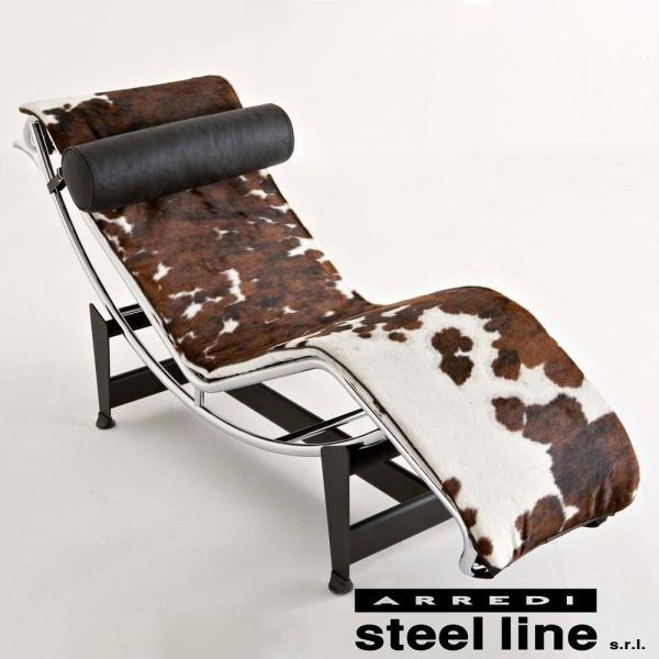 ル・コルビジェ LC4 シェーズロング ポニースキン スティールライン社DESIGN900 (steelline) genufine-store